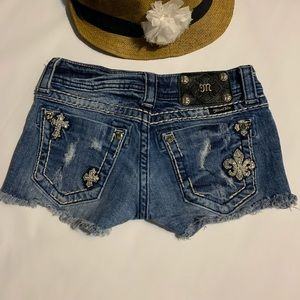 Miss Me Denim Shorts ..